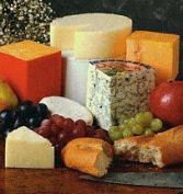 many kinds of cheese